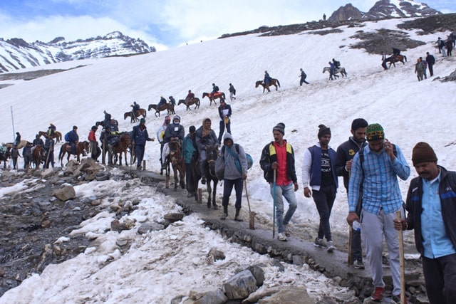 पहलगाम रूट के लिए यात्रा परमिट के रंग-Information About The Colors Of Permit For Amarnath Yatra In Hindi