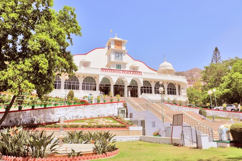 Mount Abu Ki Famous Tourist Place Universal Peace Hall In Hindi
