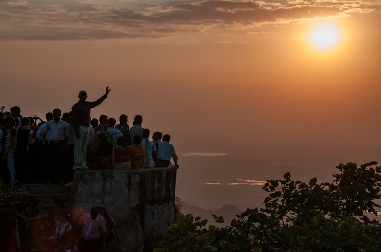 Best Place To Visit In Mount Abu Tourism Sunset Point In Hindi