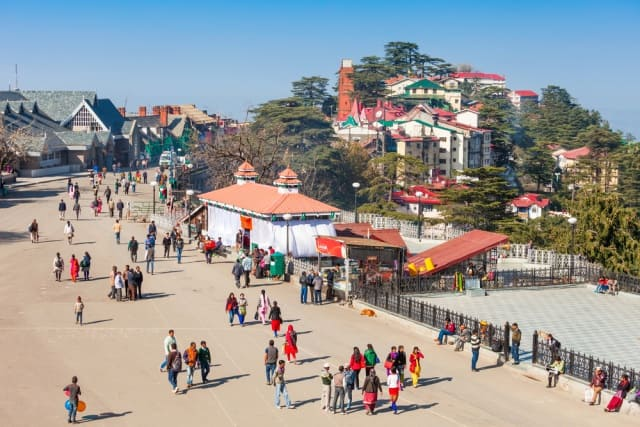माल रोड शिमला- Mall Road Shimla Ki Famous Jagah in Hindi