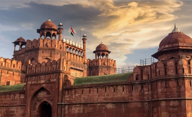 भारत में पर्यटन स्थल लाल किला - Red Fort Tourist Places In India In Hindi