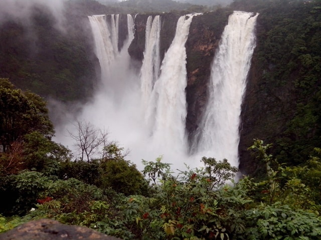 सीगंदुर जोग फॉल्स शिमोगा - Sigandur Jog Falls Shimoga In Hindi