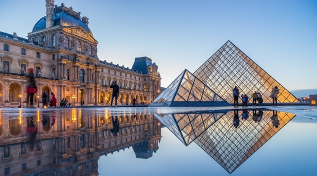 Louvre Museum images