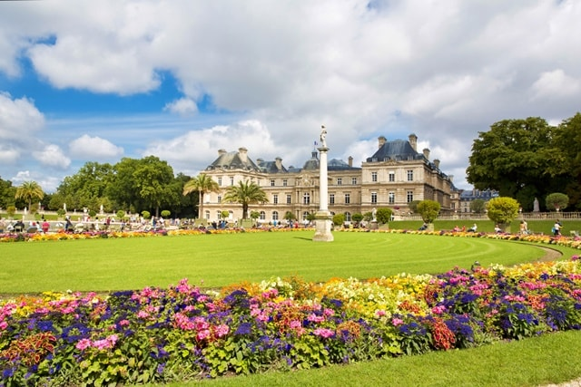 Luxembourg Gardens Paris images
