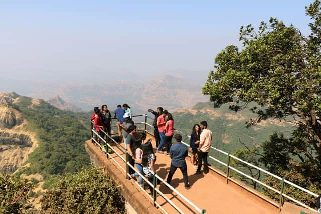 आर्थर सीट - Arthur Seat Mahabaleshwar Point In Hindi
