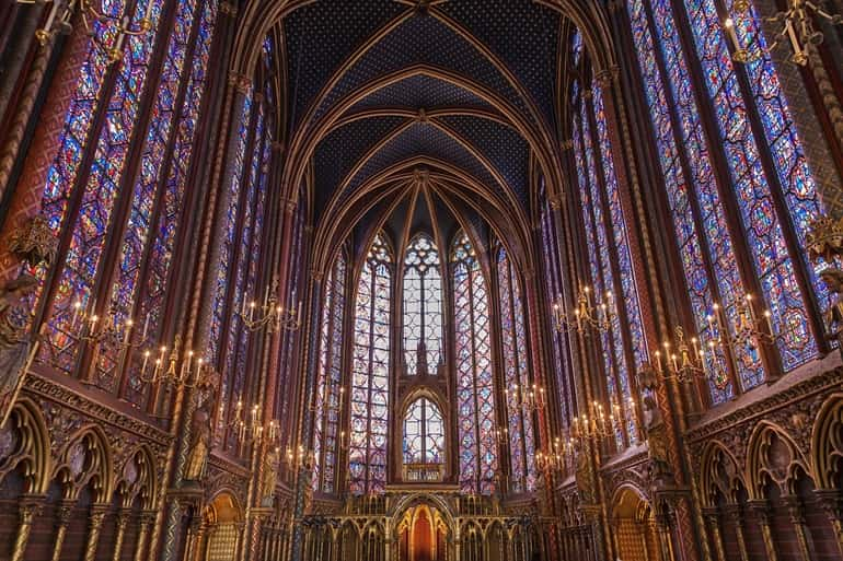 Sainte Chapelle Paris In Hindi
