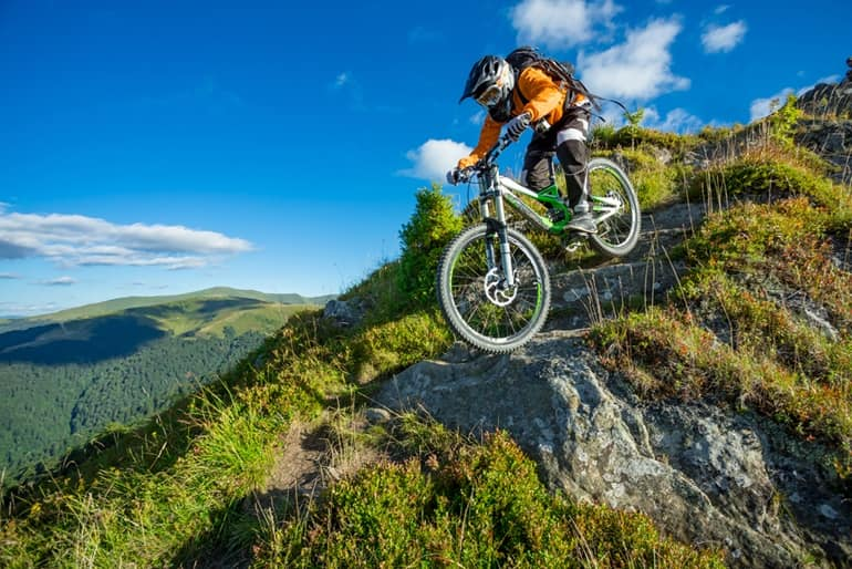 Mountain Biking Or Cycle Trekking Popular Adventure Sports In India In Hindi