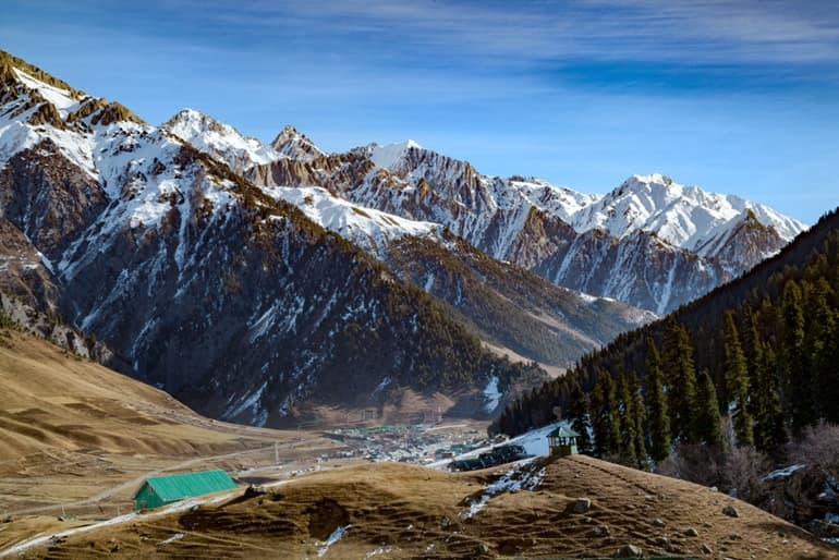 Kashmir Tourism Me Dekhne Layak Jagah Sonmarg In Hindi