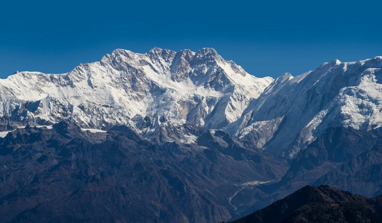 कंचनजंगा चोटी - Kangchenjunga Peak In Hindi
