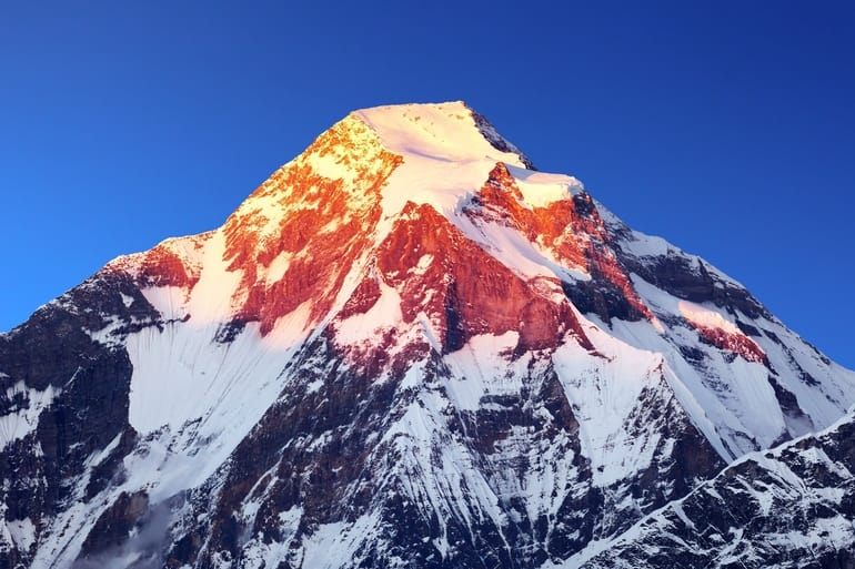धौलागिरि पर्वत - Mount Dhaulagiri In Hindi