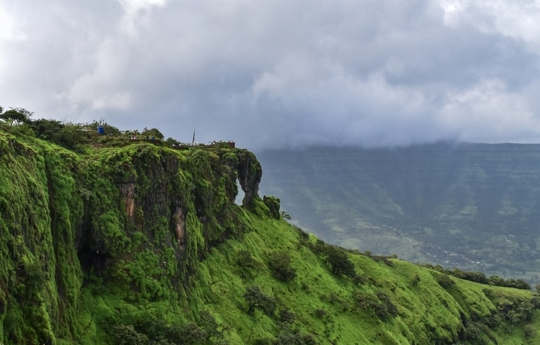 एलिफेंट हेड पॉइंट महाबलेश्वर - Elephant's Head point, Mahabaleshwar In Hindi