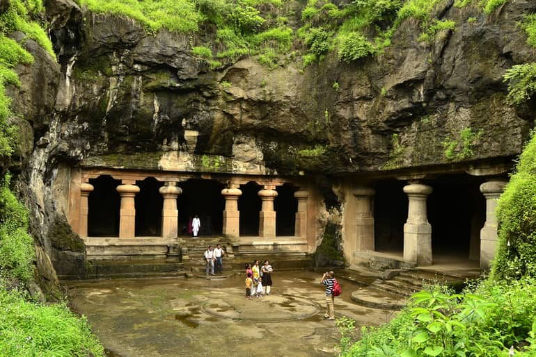एलीफेंटा गुफाएँ मुंबई - Elephanta Caves Mumbai In Hindi