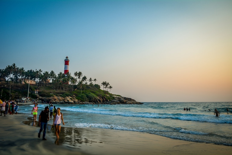 लाइट हाउस बीच कोवलम – Lighthouse Beach, Kovalam in Hindi