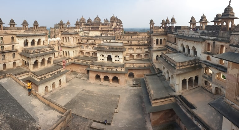 ओरछा किला की वास्तुकला - Orchha Fort Architecture in Hindi